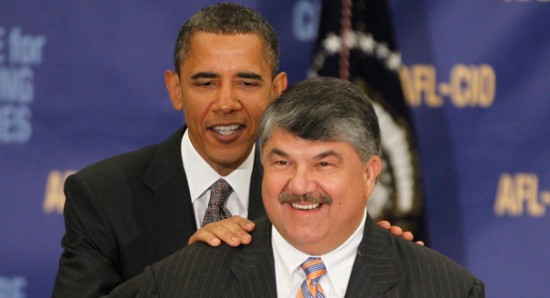 No Joke: @AFSCME Tweets About AFL-CIO Boss&#8217;&#8230;<em>Moustache?!?</em>