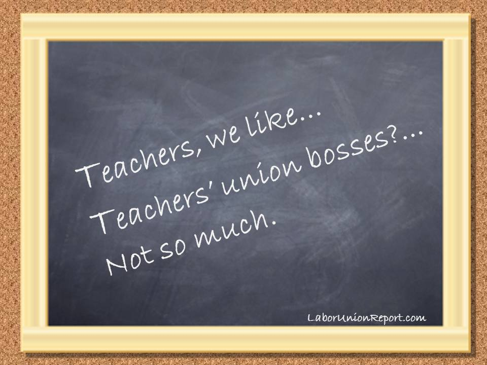 Chalkboard - Teachers Unions
