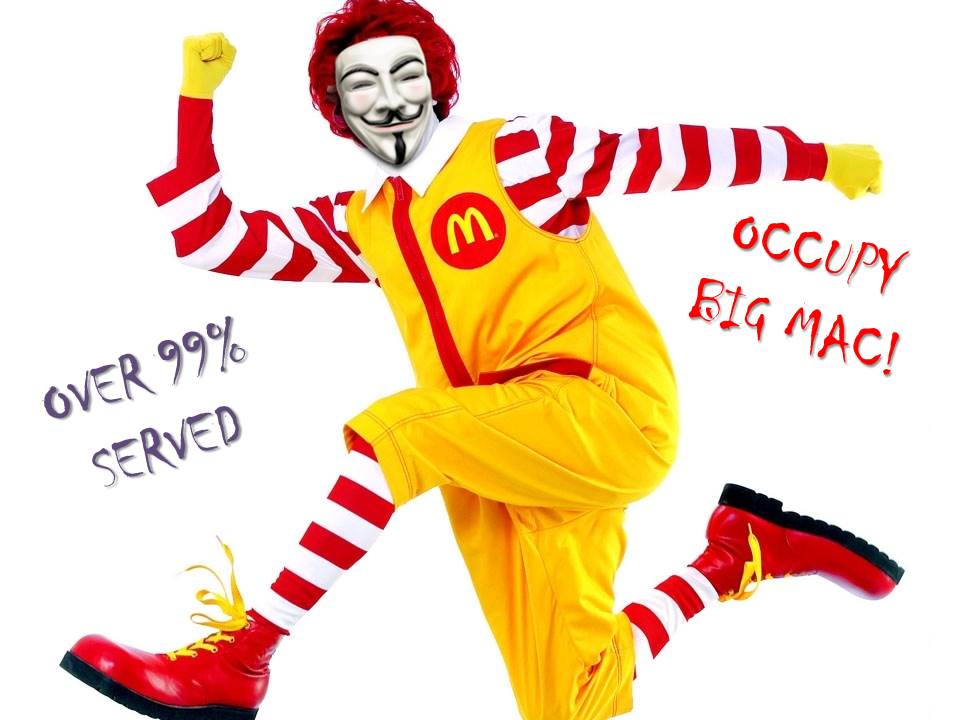 How The SEIU & Union Front Groups Want To Occupy Your Big Mac