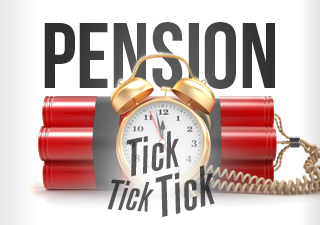 Image result for pension bomb
