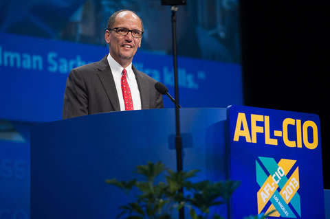 Thomas Perez @ AFL-CIO - via DOL