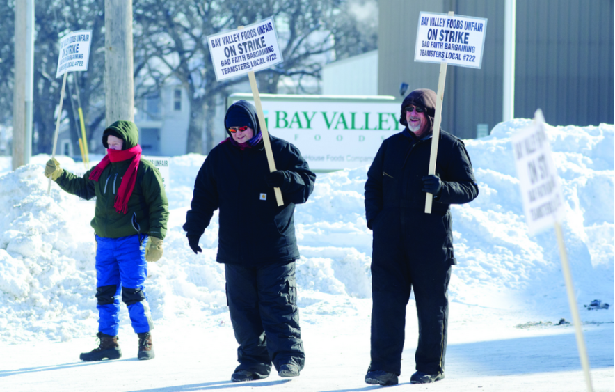 Teamster Strike in Winter