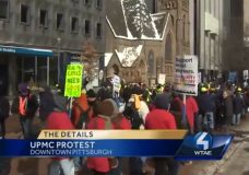 As SEIU's Pittsburgh Protests Tie Up Traffic For 2nd Day, Mayor Makes Plea To Disperse
