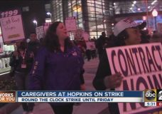 Demanding Up to 40% In Wage Hikes, SEIU Strikes Johns Hopkins Hospital