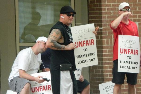 Teamsters Protest In Philly