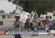 Teamsters Voting On Whether To End Month-Long Bakersfield Bus Strike