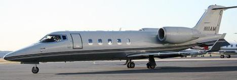 Private jet owned by the Machinists union.