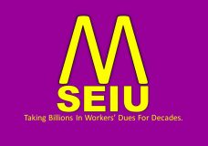 Some Super-Sized Union Dues: The SEIU stands to rake in billions by unionizing fast-food workers