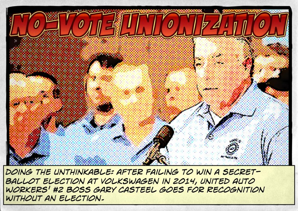 UAW - NO-VOTE UNIONIZATION