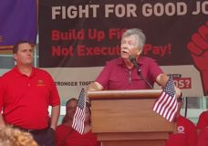 "In Profanity-Laced Tirade, CWA President Calls Verizon Exec A ""Piece of Sh*t"" At Union Rally"