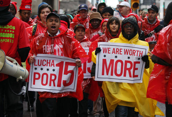 fightfor15 Oregon
