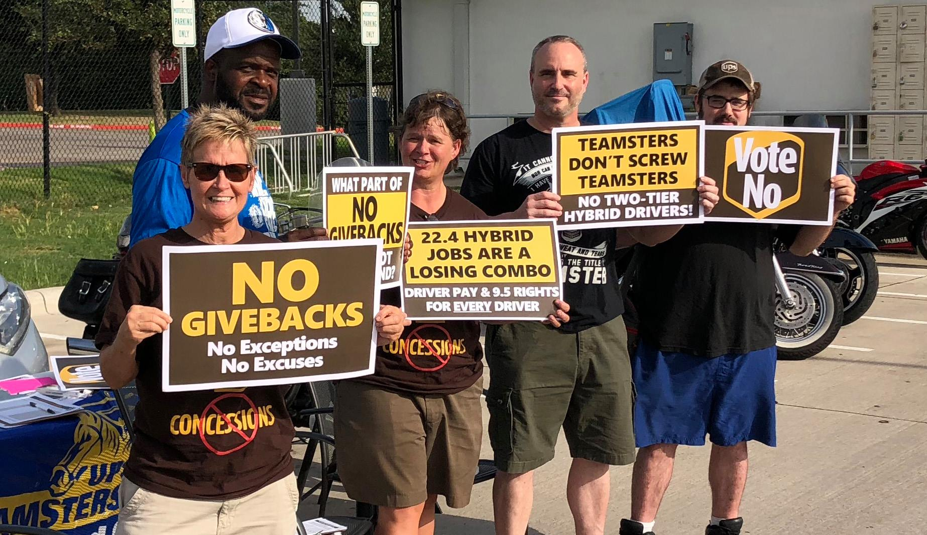 Teamsters Impose Another Supplemental Contract On UPS Workers